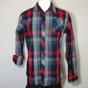 Zoo York Plaid Button Up Collar Shirt
